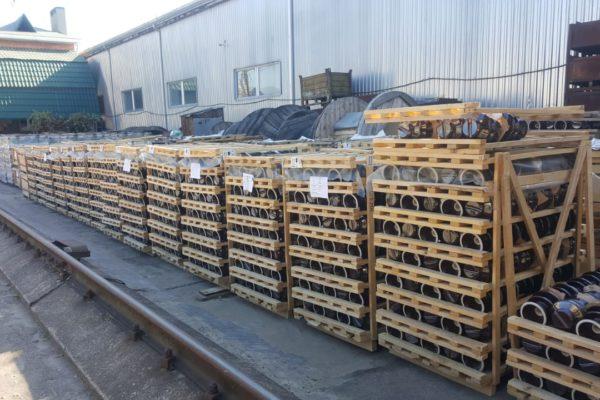 Крупное пополнение склада изоляторов для ВЛ в г. Краснодар