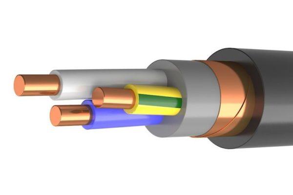 Виды бронированного кабеля и области его применения
