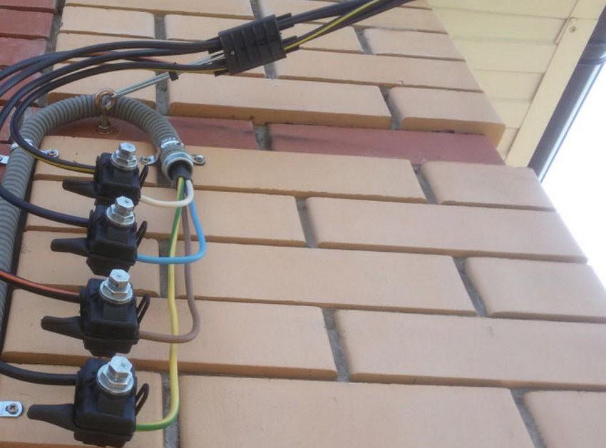Как правильно подключить дом с помощью провода СИП?