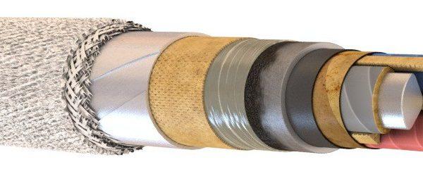 Силовые кабели с бумажной изоляцией в свинцовой оболочке