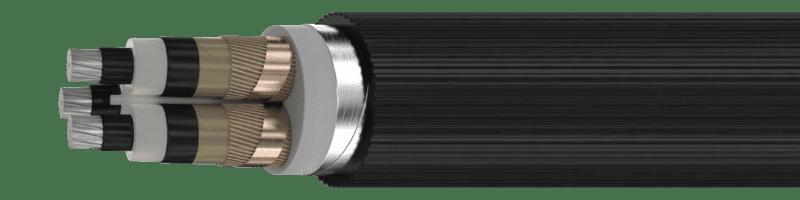 Силовой кабель с изоляцией из сшитого полиэтилена АПвПу2г 3х50/16