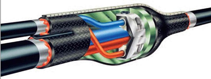 Ответвительная кабельная муфта