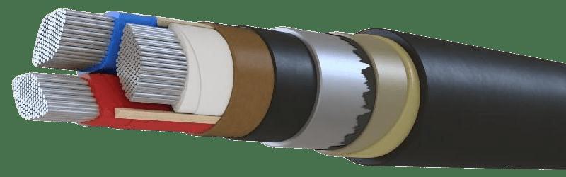 Силовой кабель ААБ2л 3х95
